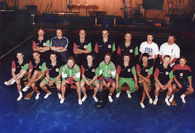 В состав Олимпийской сборной 1996 входило 4 спортсменов из СДЮШОР